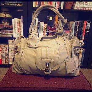 👜Aldo gray vegan leather hobo bag 👜